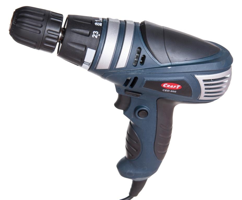 Шуруповёрт сетевой Craft CED-900 низкая цена, описание, отзывы : купить в Украине в интернет-магазине Shurik-ua.com. Артикул 7325